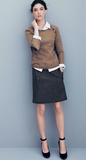 Office chic - I love this right down to the gorgeous shoes