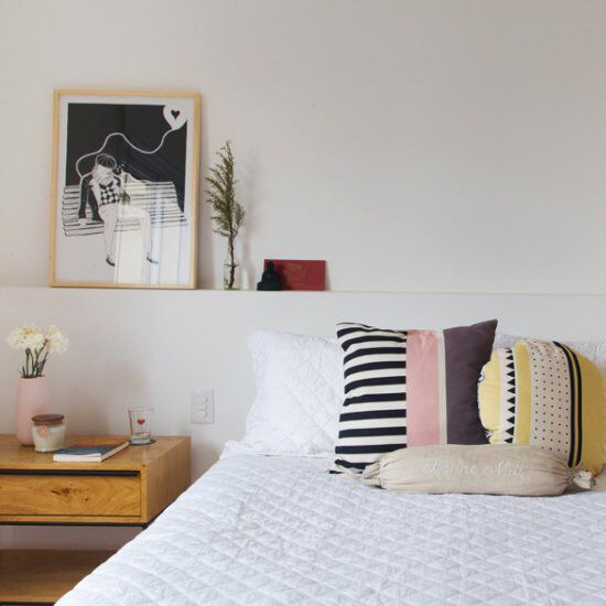 In This Modern Apartment With Scandinavian Influences, The Kitchen And The  Bedroom Are Filled With