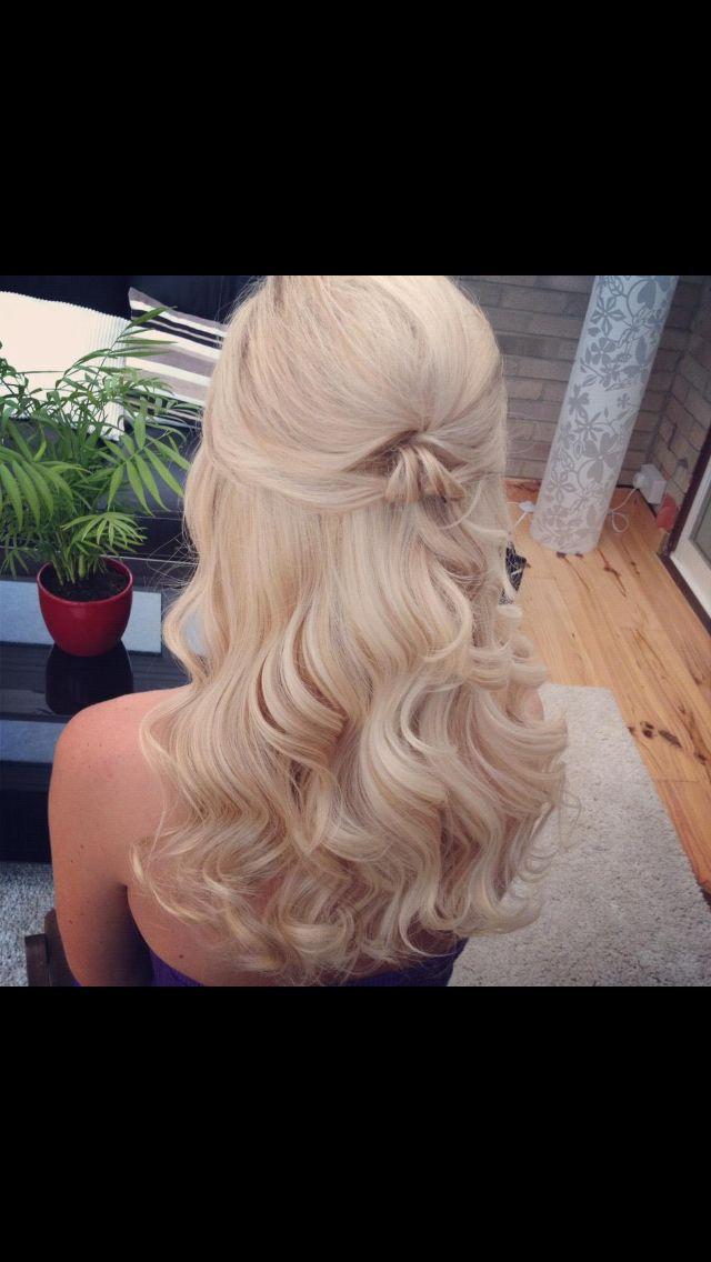 Bridal hair ideas 2 like the soft curls