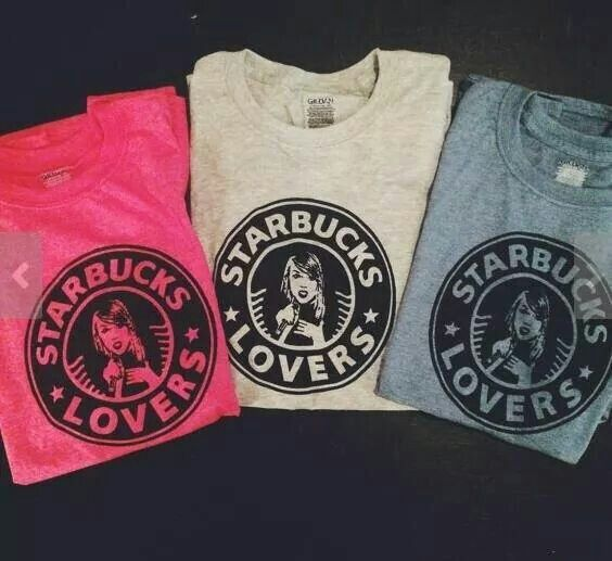 """Got a lot of Starbucks lovers, they'll tell you I'm insane..."" I need this shirt."