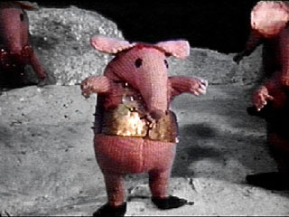 The Clangers, a kids TV show from the 1970s was extremely popular