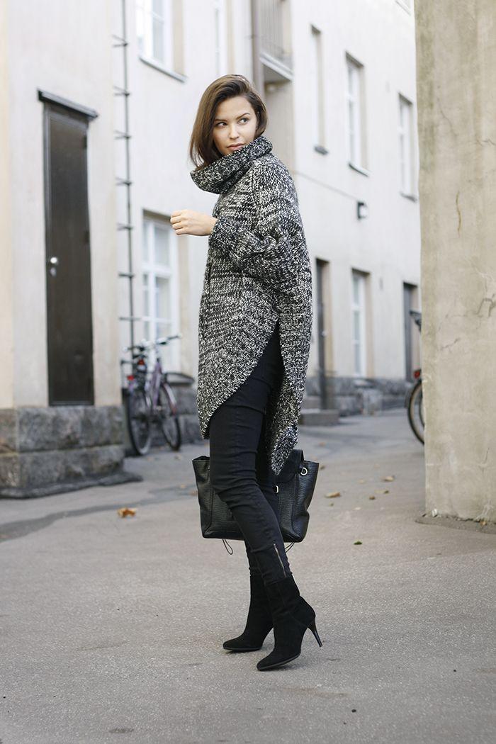 chunky knit. London.