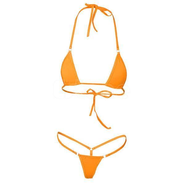 1d1619e4bb987 Women Sexy Micro Mini Bikini Thong Underwear G-String Bra Swimwear  Sleepwear New High Quality
