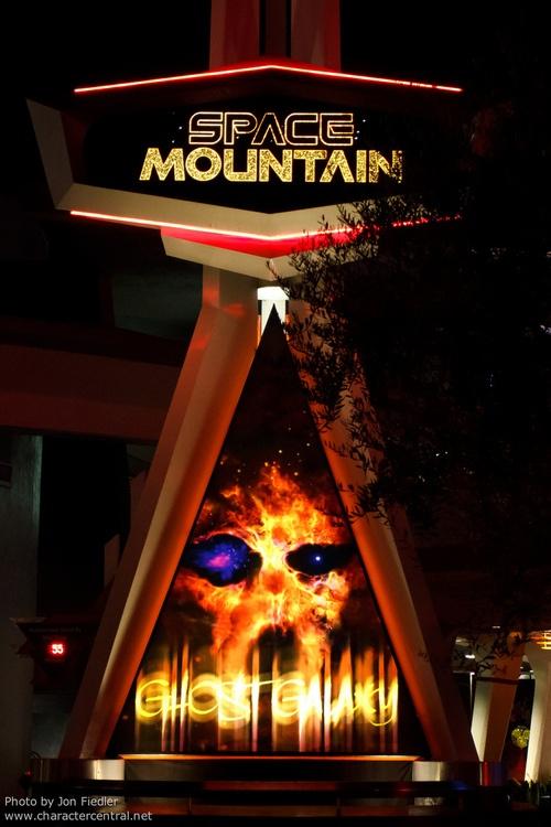 space mountain ghost galaxy disneyland - photo #39