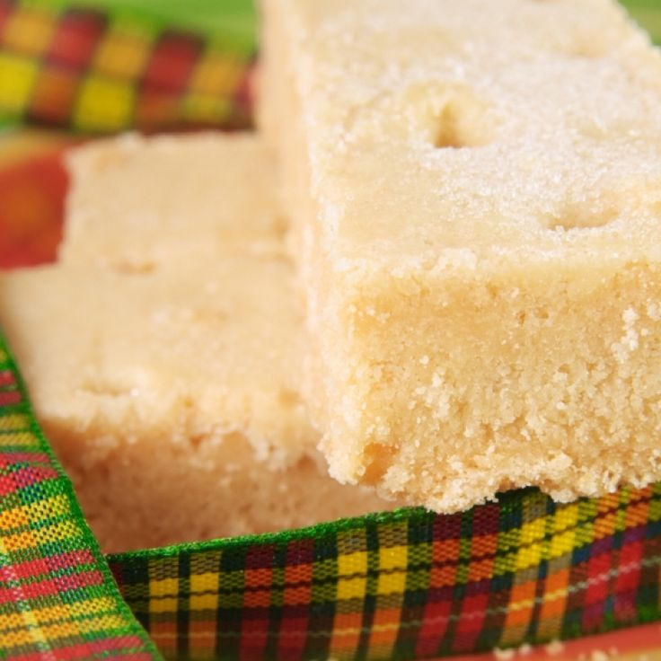 This shortbread recipe consists of 3 basic ingredients and butter is the key.. Traditional Shortbread Recipe from Grandmothers Kitchen.