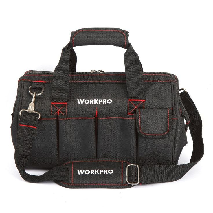 """WORKPRO 14"""" Brand Tool Bag Professional Electrician Tool Kit Bags 2017 New"""