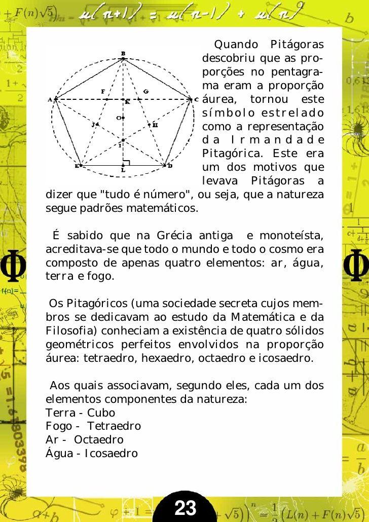 Serie De Fibonacci E O Numero De Ouro Com Imagens Numero Um