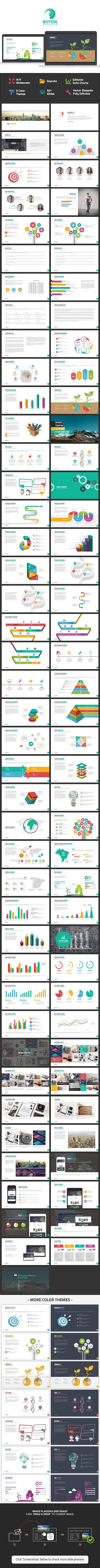Botein Keynote Template - Business Keynote Templates
