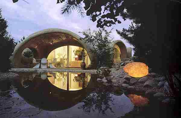 Underground homes... cool