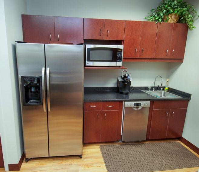 Office Kitchen Furniture: Best Office Break Rooms