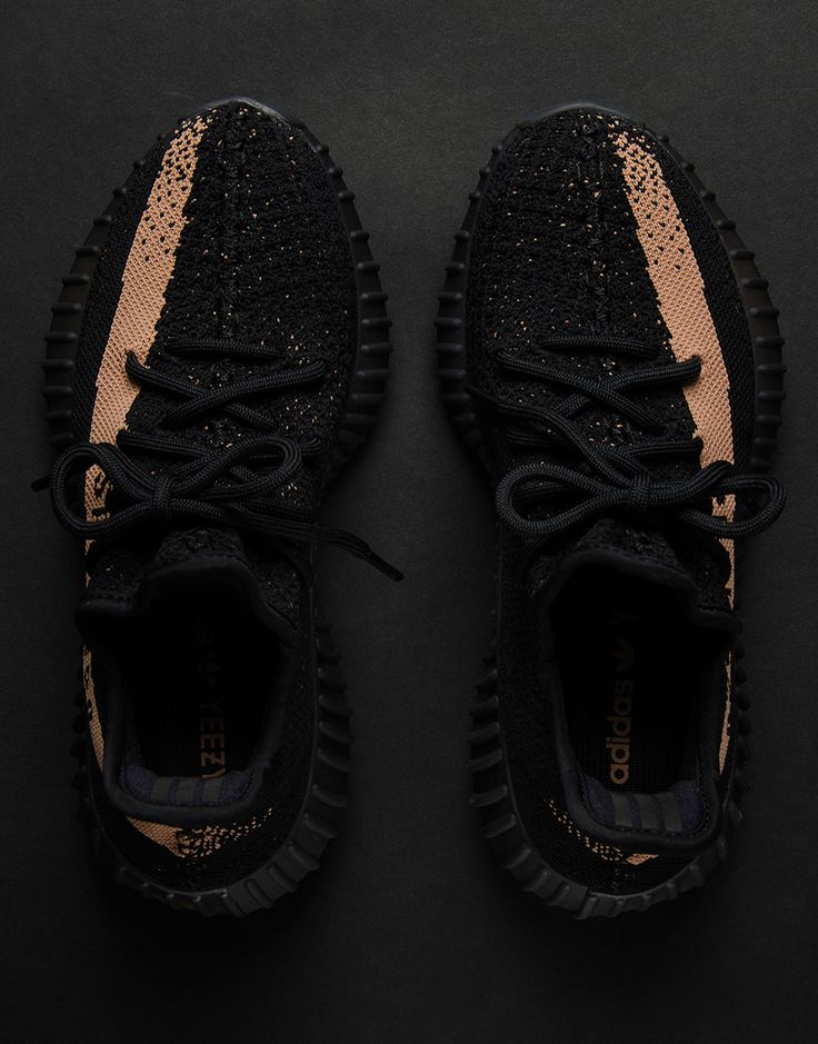 """We bring you a detailed look at the adidas Yeezy Boost 350 v2 """"Copper"""", releasing on November 23rd, 2016. Like the red and olive colorways, this Yeezy shoe release features the colored stripe that runs from the toe to the … Continue reading →"""