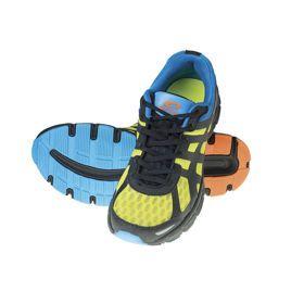 Buty do biegania Spokey Liberate #5. Lekkość i odporność na ścieranie – odporność na ścieranie i lekkość butów zapewnia zastosowanie odpowiednich materiałów, m.in. TPR i TPU, z których wykonany został bieżnik i bieżnik. #butydobiegania #bieganie #jogging
