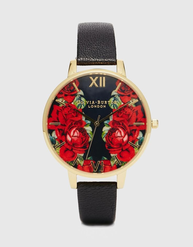 AMOUR ♥♥ Olivia Burton - English Rose - Montre à gros cadran
