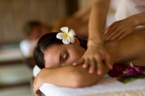 Massage à deux pour la Saint Valentin