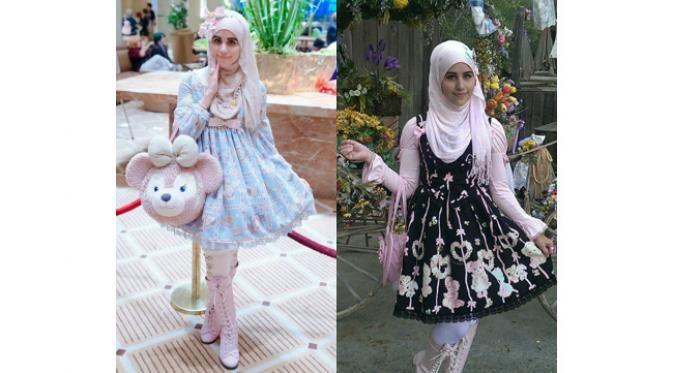 Berjilbab dan Pecinta Gaya Lolita? Ini Dia Inspirasinya!