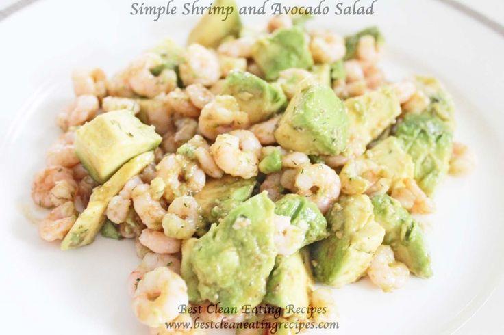 Clean Eating Dinner Idea – Simple Shrimp & Avocado Salad | Healthy Weight Loss…