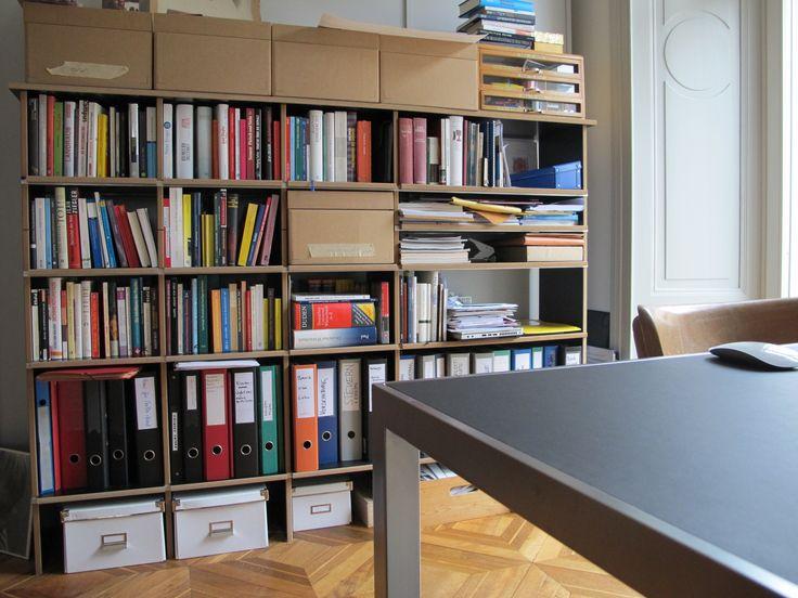 homeoffice mit fnp regal von nils holger moormann referenzen wohnidee luzern ag pinterest. Black Bedroom Furniture Sets. Home Design Ideas
