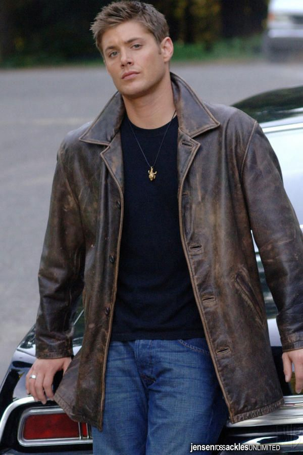 "He can wear the hell out of a leather jacket | 15 Reasons Dean Winchester From ""Supernatural"" Is The Perfect Man"