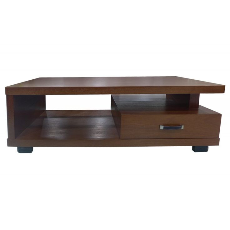 Coffee table Odeon walnut 130x65x45 Ε7711,1