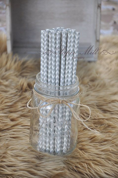 Hey, I found this really awesome Etsy listing at https://www.etsy.com/listing/464405967/gray-chevron-paper-straws-party-supplies