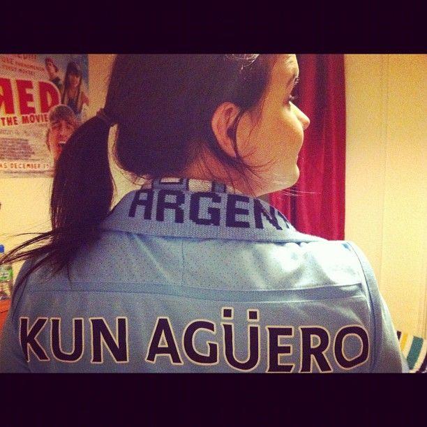 My Aguero shirt #MCFC