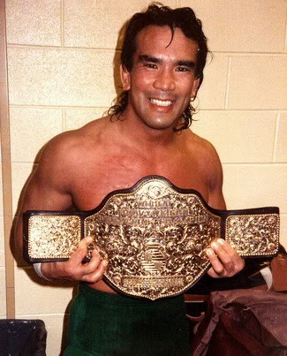 """Ricky """"The Dragon"""" Steamboat's NWA World Heavyweight Championship reign:  February 20, 1989 - May 7, 1989"""
