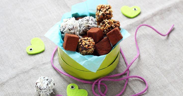 Recette - ORGASMIQUE : trio de TRUFFES au chocolat à OFFRIR (ou pas) en pas à pas