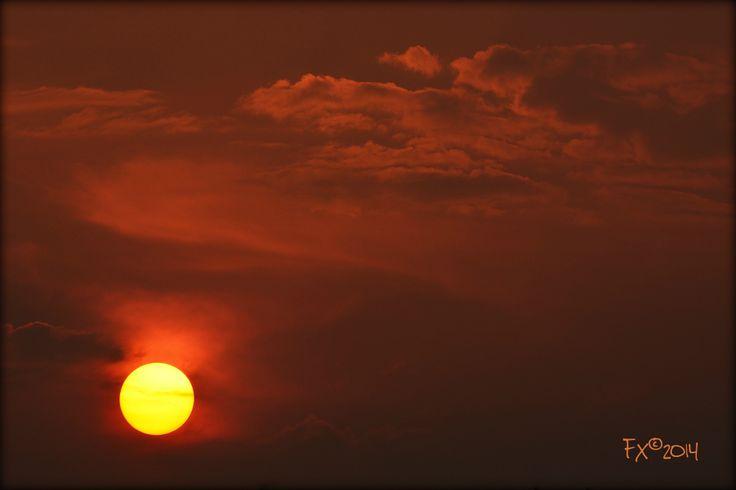 Sunset 21april2014