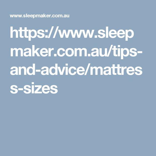 https://www.sleepmaker.com.au/tips-and-advice/mattress-sizes
