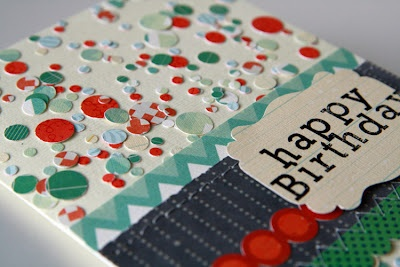 Using confetti on cardsConfetti, Paper, Scrapbook, Diy, Cards