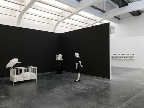 "Installation view of ""Elmgreen & Dragset: The Well Fair"", Ullens Center for Contemporary Art, Beijing, 2016."