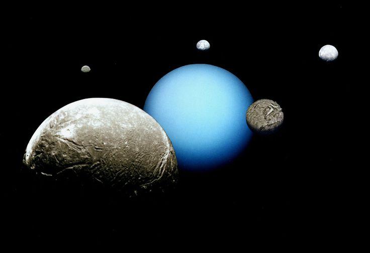 Uranus' Moon of Umbriel