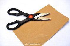 Come affilare le forbici