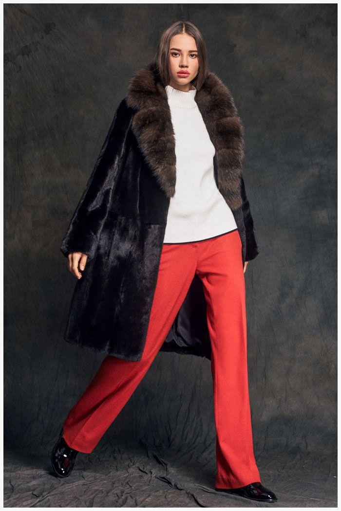 """Fur coats and furs """"Catherine"""" (32 photos): models and reviews"""