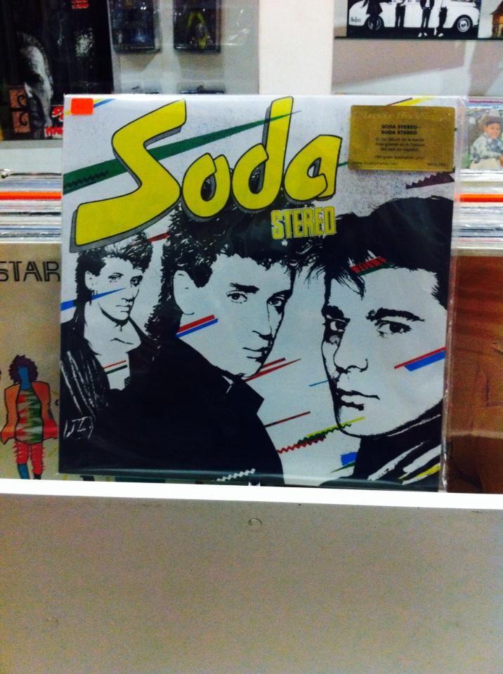 Soda Stereo en @OldboxStore Larco 1036 int 101 Miraflores