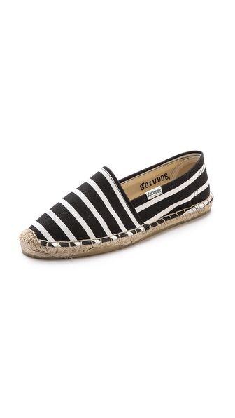 { classic stripe espadrilles }