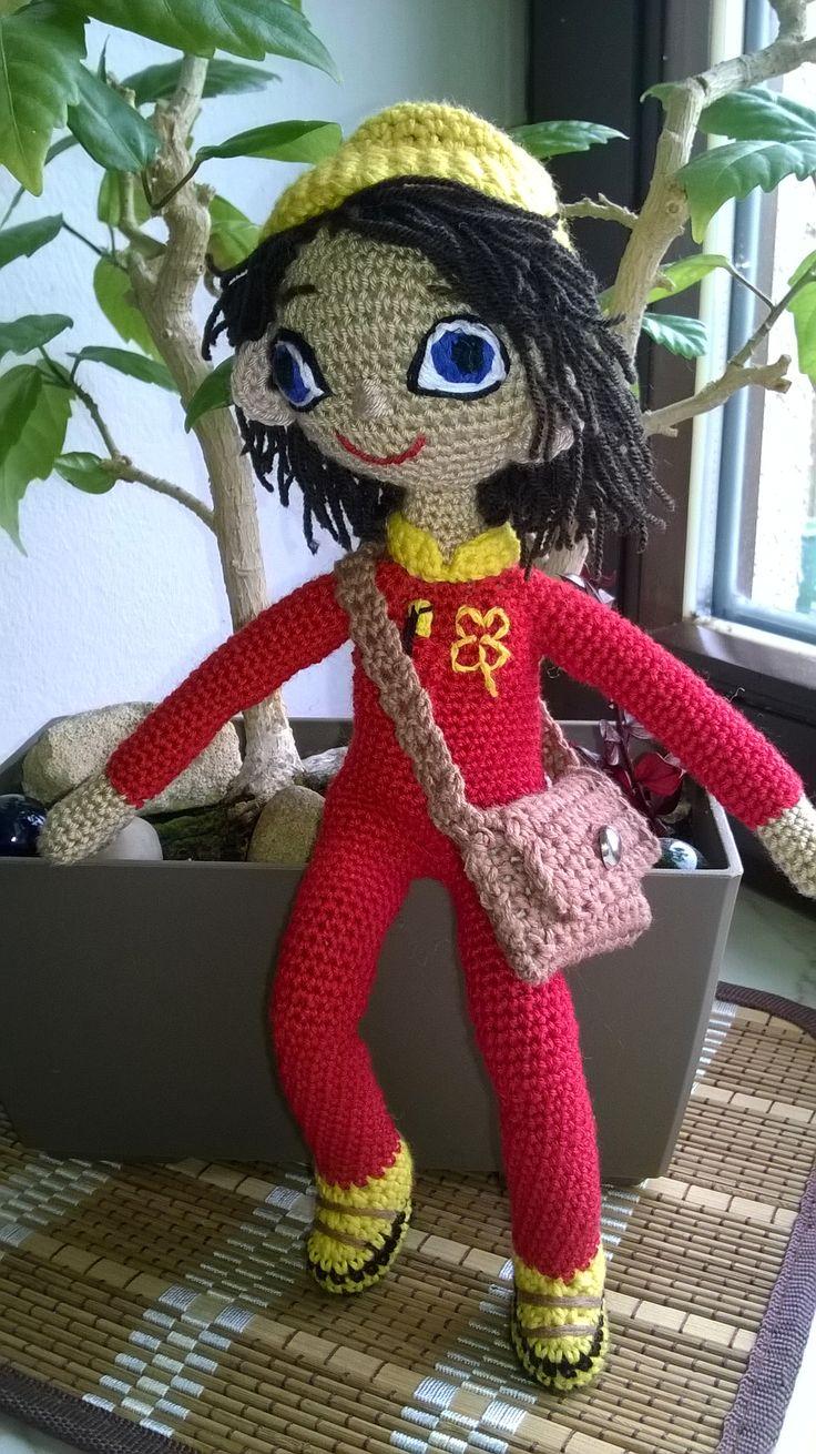Postman Danuše Krhovská #my crochet