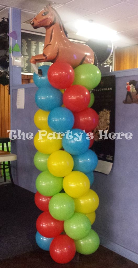 balloon column!