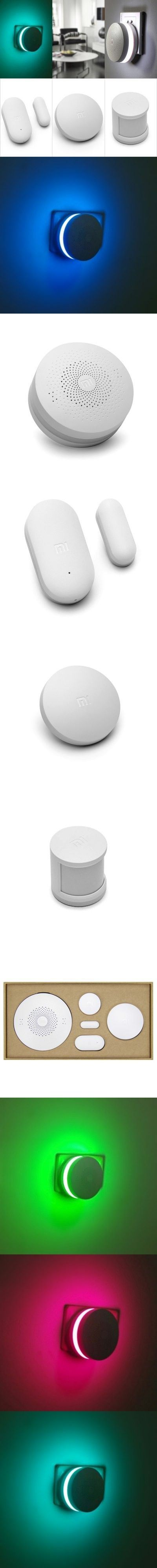 Alarm Systems | 4 in 1 Original Xiaomi Launch Sensors Suite for Smart Home Security