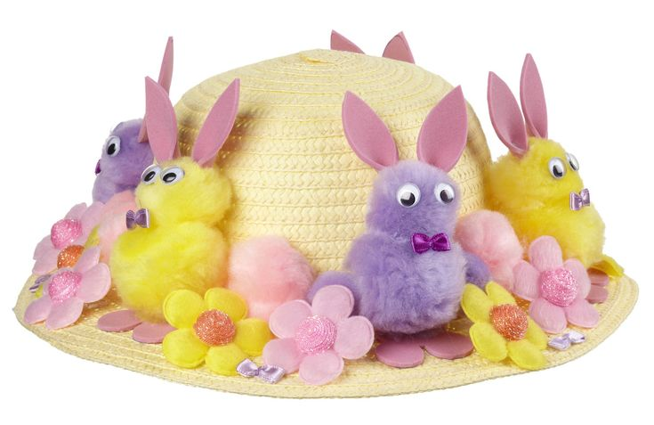 Three Easy Easter Bonnet Ideas for Kids #easterbonnets #bonnets