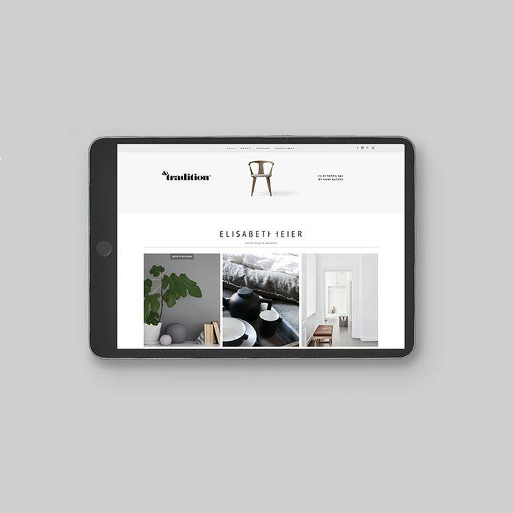 WEB DESIGN for Elisabeth Heier // www.adesign.studio