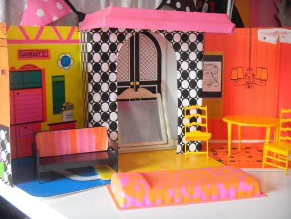 Hey, I found this really awesome Etsy listing at http://www.etsy.com/listing/164814518/vintage-1968-barbie-family-house