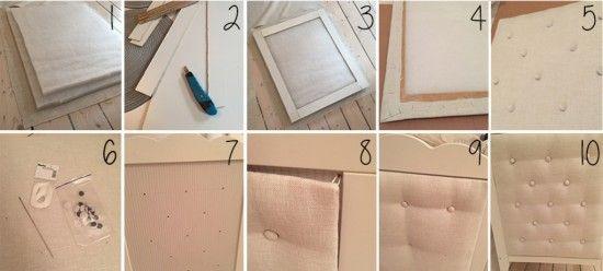 DIY headboard for IKEA HENSVIK crib - IKEA Hackers - IKEA Hackers