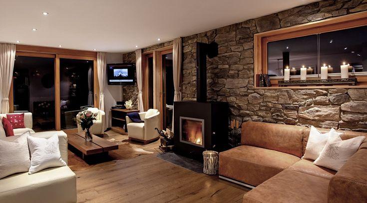 "ski chalet decor   Luxury Villa Zermatt ""Gemini"" - for perfect family ski holidays"