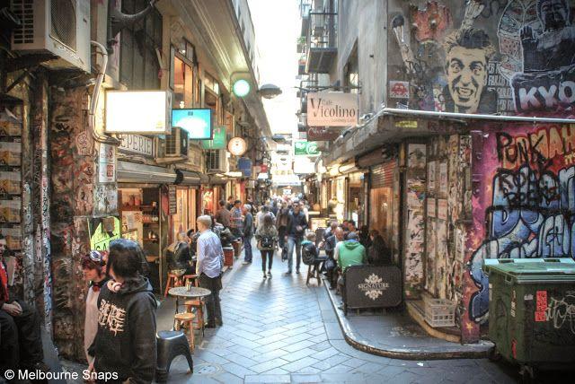 Melbourne Snaps: Degraves Street Melbourne