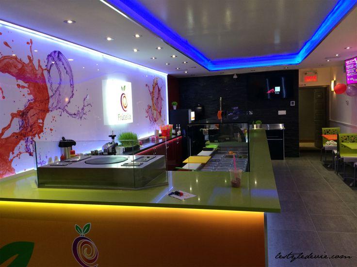 Juice Bar Commercial Design | Modern Service Counter |  Design & Renovation | lestyledevie.com