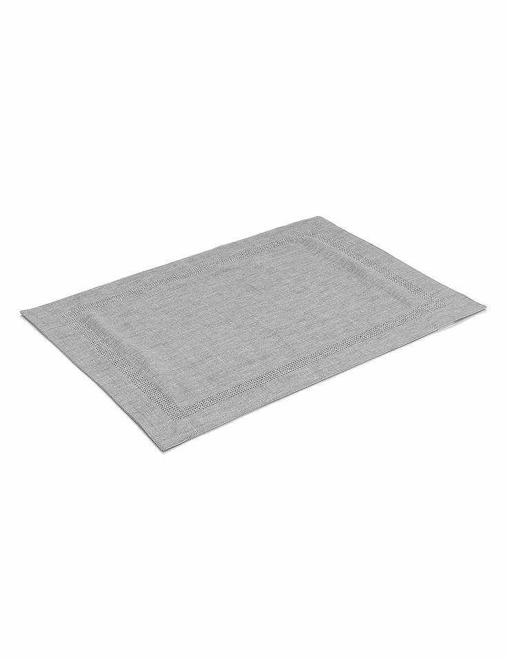 Linen Sparkle Placemat | M&S