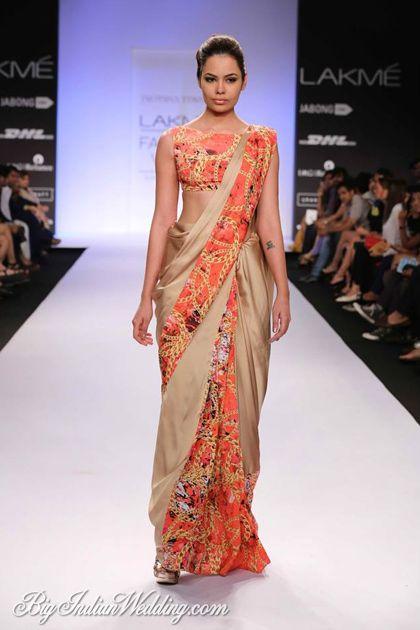 Jyotsna Tiwari designer saree collection