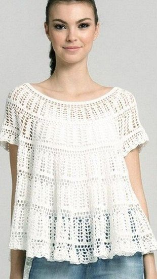 MADE TO ORDER beautiful handmade crochet summer por CottonMystery