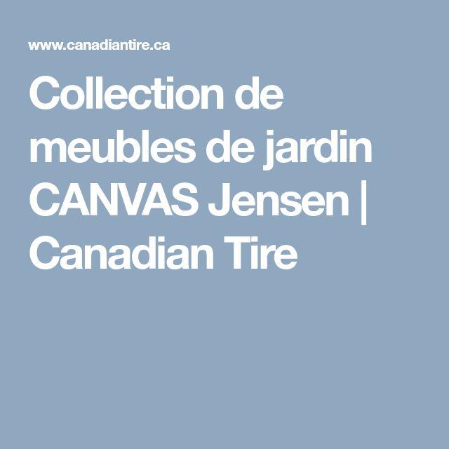 Collection de meubles de jardin CANVAS Jensen | Canadian Tire